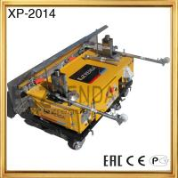 Construction Equipment Pictures On Wall Concrete Plaster Machine Longth 1000cm