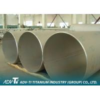 Gr1 / Gr5 Welding Titanium Pipe ASTM B337 With Sand-blasted Surface For Industrial Manufactures