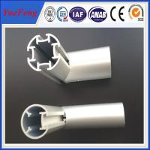 aluminum profile half round / machined tube aluminium round profile / 8mm aluminum tube Manufactures