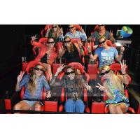 Interactive 7D Cinema System With Horrible Movies / Electronics Seats Manufactures