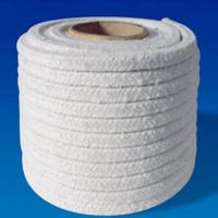 Insulation Ceramic Fiber Rope Thermal Shock Resistance Customized Size Manufactures