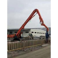 Durable Vibratory Hammer Pile Driver , Hydraulic Vibro Machine For Sheet Pile Manufactures