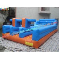 PVC Inflatable Bungee Run Triple Lane,Three LaneInflatable Sports Games Bungee Manufactures
