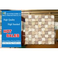 China Bathroom Natural Stone Marble Mosaic Floor Tile Building Materials on sale
