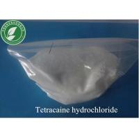 Buy cheap Topical Anesthetic Powder Tetracaine Hydrochloride CAS136-47-0 from wholesalers
