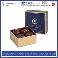 Chocolate Decorative Gift Boxes With Lids Small Capacity For Birthday Gifts