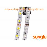 China 5050 Dimmable LED Rope Light 300LEDS / 5 Meters RGBCW 12v Waterproof LED Light Strips on sale