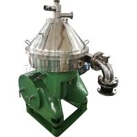 Disk Bowl Centrifuge Oil Separator , Automatic Separator Machine For Fish Meal Manufactures