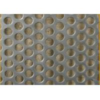 China Standard 2B Finish Honeycomb Perforated Stainless Steel Sheets With 1524mm Width on sale