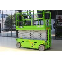 China Mobile Electric Scissor Lift  Table 320kg Capacity Platform 13m on sale