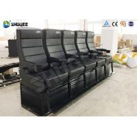 Quality Environmental Motion Chair 4D Cinema Equipment With Metal Flat Screen for sale