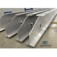 Wide Range Finished Aluminium Construction Profiles 6063 Structural Aluminium Sections Manufactures