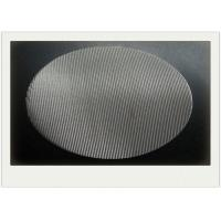 Round SS Sintered Wire Mesh Filter With Round Filter Disc 2-2300 Mesh / Inch Manufactures