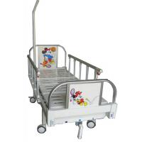 Infant Ward Bed , Children Medical Bed With Aluminum Alloy Side Rails Manufactures
