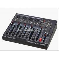 High Power Digital Audio Pro Mixer Equipment With MP3 , SD Card Manufactures