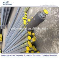 PSB830/930 High Yield Steel For Reinforcement Of Concrete Post-tensioning Steel Bar Post Tensioning Screw Thread Steel B Manufactures