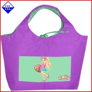 Full Color Reuseable Non Woven Fabric Bags , Non Woven Polypropylene Shopping Bags