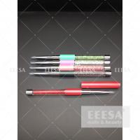 China Professional  Nail Art Tools  Soft Silicone Head Embossed Gel Pen Set on sale