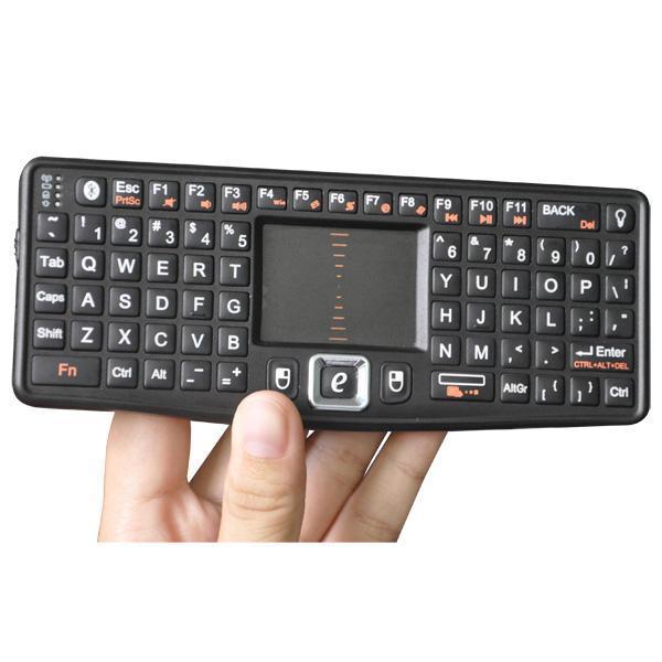 Quality Rii Mini Touch N7 Bluetooth Keyboard Version 3.0 for PC,iPad2/ Samsung Galaxy Tablet/ Smartphone/ Motorola Xoom . for sale