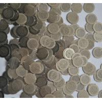 Micron Hole Size stainless steel filter disc , wire filter mesh diameter 5mm Manufactures
