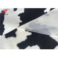 Faux Fur Animal Printing Fabric 100% Polyester Velvet Fabric Home Textile Manufactures