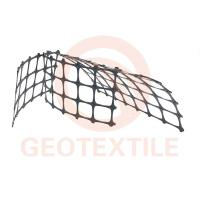 Track Stabilization Geo Mesh For Retaining Walls , 3.95m Biaxial Integral Geogrid Products Manufactures
