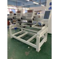 China 2 Heads computerized embroidery machine suitable for logo embroidery T-shirt cap and jacket on sale