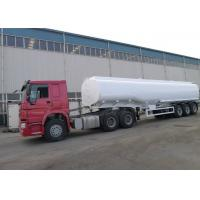 HOWO Brand Oil Tank Trailer Right / Left Hand Truck ZZ1251M4641W ISO Approved Manufactures