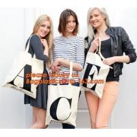 Handle Bag 100% Cotton Shoulder Bag,New design cheap printed shopping black tote bag cotton canvas handle with price