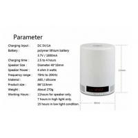 Portable MP3/FM Audio System TF card LED Bluetooth speaker Manufactures