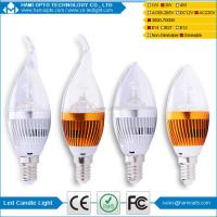 E14 Led Candle Bulb Dimmable AC220V Manufactures