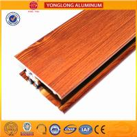 Insulation Wood Finish Aluminium Profiles For Medical Equipment OEM Manufactures