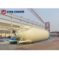 China Integral Type Q235 Steel Material 50T Cement Silo For Engineering Construction on sale