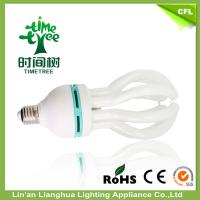 High Lumen 105w Lotus 4 U Compact Fluorescent Bulb CFL Lamps For Classroom Manufactures