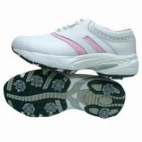 Fashionable golf shoes, suitable for men and women, made of leather Manufactures