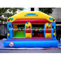Custom Sized Advertising Inflatable Castle Custom For Opening Event Manufactures
