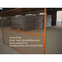 China Hot selling Canada type welded mesh temporary fence best price on sale
