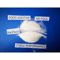 Sodium Sulfite Chemical Formula Na2SO3, Antimicrobic Sodium Sulfite Anhydrous  For Food Manufactures