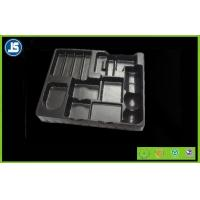 Black Medical Plastic Tray With Embossing Printing , Food Packaging Trays Manufactures