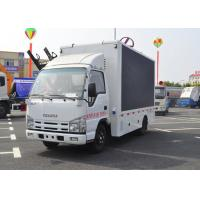 Mobile Advertising LED Billboard Truck Display Lift P6 Outdoor Color Screen With Stage Manufactures