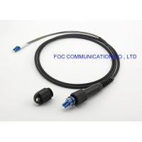 China PDLC-LC Optical Fiber Patch Cord FTTA Outdoor IP67 Waterproof GYFJH Cable on sale