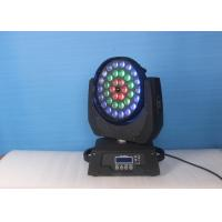 36 X 18W  RGBW UV LED Beam Moving Head Light , Led Stage Lighting Manufactures