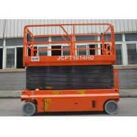 Construction Self Propelled Hydraulic Scissor Lift With Lifting Height 3 - 16m Manufactures