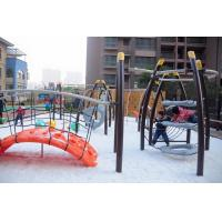 Large Kids Cool Outdoor Play Equipment Climber Arch LLDPE Plastic Bridge Manufactures