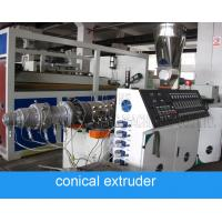 China ABB Inverter 160mm 120kg/H Pvc Pipe Extruder on sale