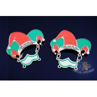 China Metal Enamel Carnival Lapel Pin Badges No Minimum Order For Football Event Eco Friendly on sale