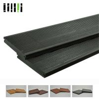 China Click Lock Cost Per Square Foot Modern Black Grey Bamboo Solid Wooden Floor For Outdoor Deck on sale