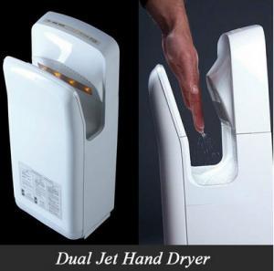 China Hotel high speed hand dryer,dual jet air hand dryer energy saving on sale