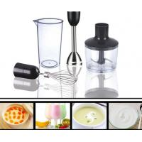 Hand blender mixer set with stainless steel rod Manufactures