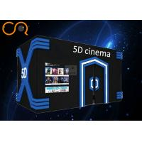 Fully Immersive 5d Motion Ride 2 / 3 / 6 DOF With Central Control System Manufactures